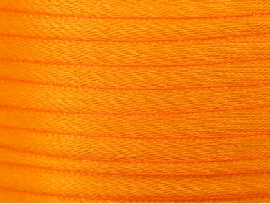 22m de ruban en satin orange 10mm