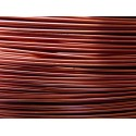 Bobine 235 M fil aluminium marron 1mm
