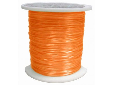 Elastique 0.8 mm Orange