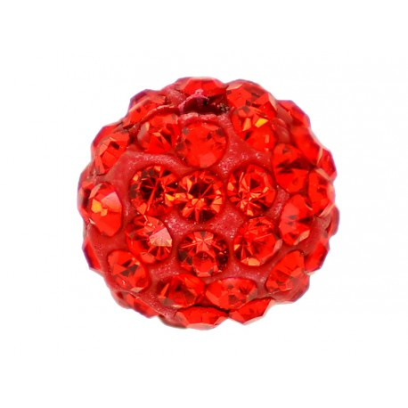 10 x Perle Rouge 10mm