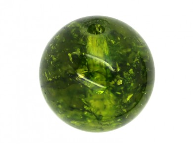 1 x Perle Quartz Olive 20mm